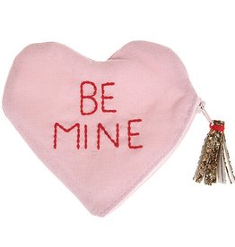 meri meri be mine pouch FINAL SALE