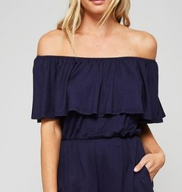 bailey off the shoulder romper