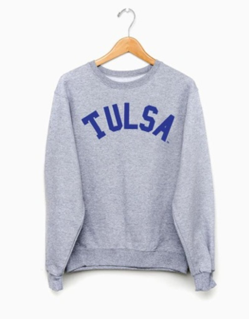 LivyLu tulsa flocked cc sweatshirt