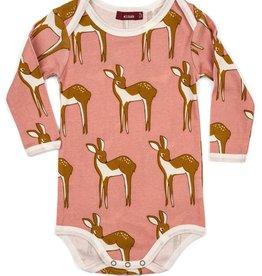 milkbarn long sleeve one piece - doe