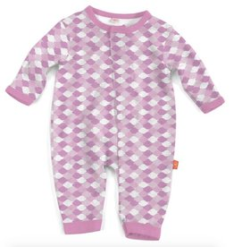 Magnificent Baby pink mod fish modal magnetic coverall