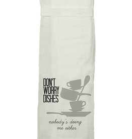 twisted wares dont worry dishes towel