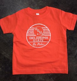 Opolis kids go pokes retro helmet tee FINAL SALE
