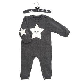 star knit jumpsuit