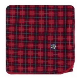 kickee pants large throw blanket in plaid