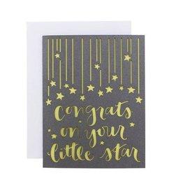alexis mattox design congrats on your little star card