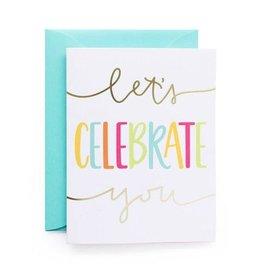 alexis mattox design lets celebrate you foil card