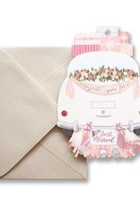alexis mattox design wedding car die cut card