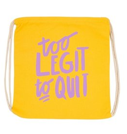too legit drawstring bag FINAL SALE