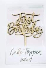 alexis mattox design first birthday cake topper