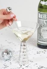 Martini Glass Silver