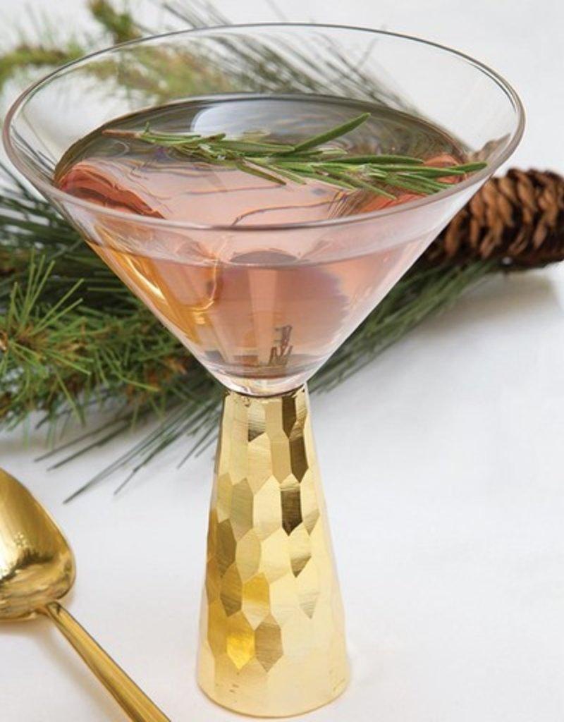 Martini Glass Gold