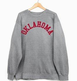 LivyLu oklahoma flocked cc sweatshirt