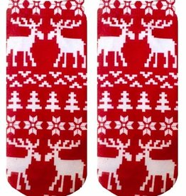 ugly sweater moose ankle socks FINAL SALE