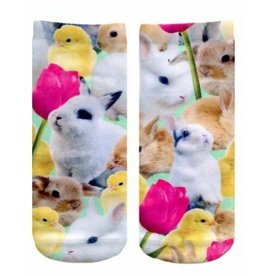 easter bunny ankle socks FINAL SALE