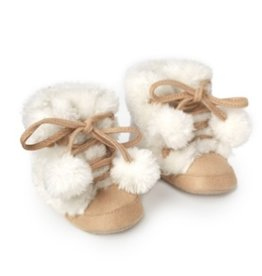 two's company faux fur suede boots