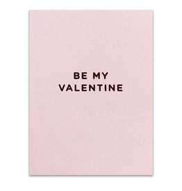 Calypso be my valentine card FINAL SALE