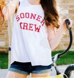 LivyLu ou sooner crew swing tank FINAL SALE