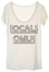 locals only tee FINAL SALE
