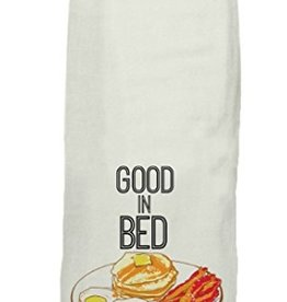 twisted wares good in bed tea towel