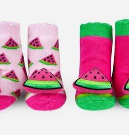 waddle watermelon rattle socks