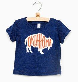 LivyLu childrens bison oklahoma tee