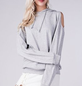 honey punch everyday hoodie with drop shoulders