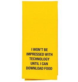download food tea towel