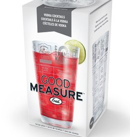 good measure vodka recipe glass