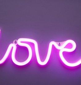 two's company love neon sign decor FINAL SALE