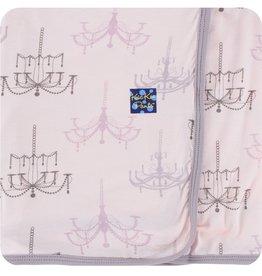 kickee pants macaroon chandelier swaddling blanket