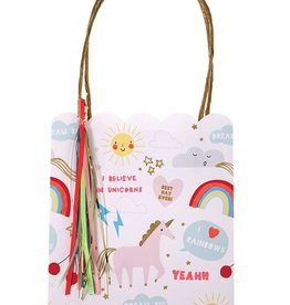 meri meri rainbow/unicorn party bags (set of 8)