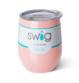 swig swig 12oz wine tumbler - pink