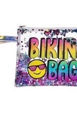 summer vibes confetti bikini bag