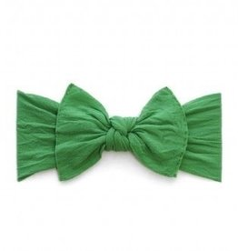 Baby Bling KNOT: shamrock green