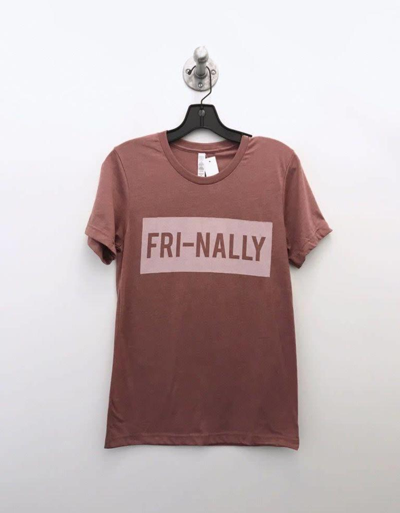 mauve fri-nally tee