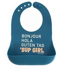 Bella Tunno sup girl wonder bib