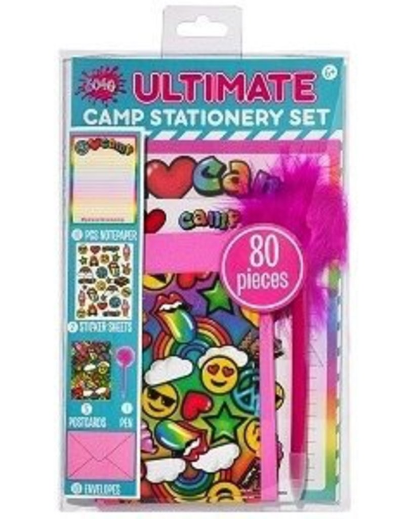 airbrush ultimate camp stationary set