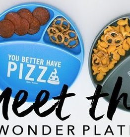 Bella Tunno better have pizza wonder plate