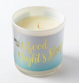 smells like a good nights sleep candle