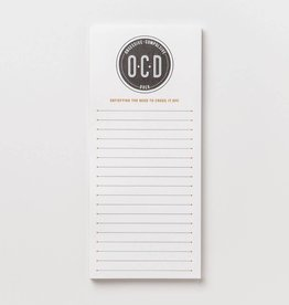 obsessive compulsive doer list pad