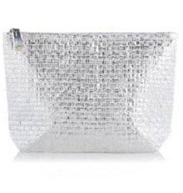 shiraleah silver adora zip pouch