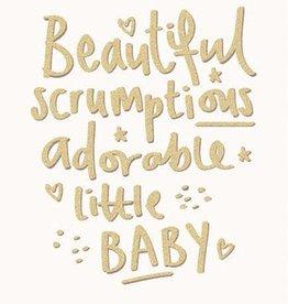 Calypso adorable baby card
