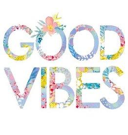 Calypso hola good vibes card