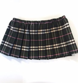pleated plaid skirt FINAL SALE