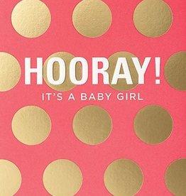 Calypso hooray! its a girl card