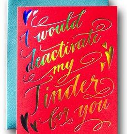 tinder card
