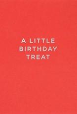 Calypso a little birthday treat card