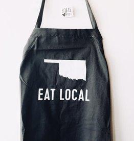 eat local oklahoma apron