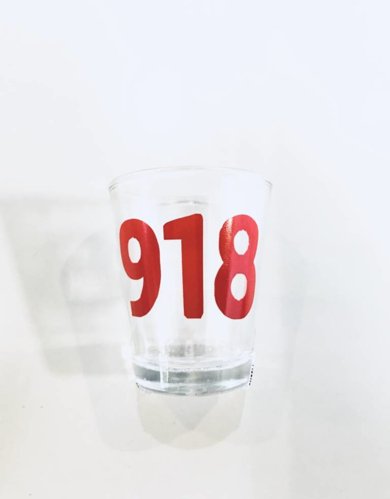 918 shot glass
